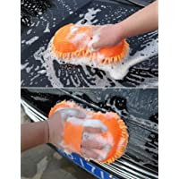 HOME CUBE® Multipurpose Microfibre Wash & Dry Cleaning Sponge, 1 Piece - Random Color