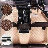 Sadge Maßgeschneiderte Leder Fußmatten Für Nissan X Trail T32 7seat 2014 2019 Wasserdichte Auto Fußteppiche Kunstleder Anti Rutsch 3d Autoteppiche Sport Freizeit