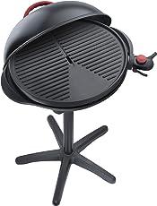 Steba VG 300 elektrischer Barbecue-Hauben-Grill, schwarz/rot