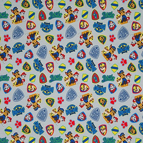 Jersey Stoff-  grau Jersey-swaj48-Schneidern & Kinder Kleidung Stoff-95% Baumwolle 5% Elasthan-von 0,5m 50cm x 150cm