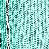Gerüstnetz Staubnetz Gerüstschutznetz (3,07 x 20m 50gr/m², grün)