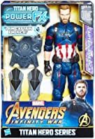 Avengers: Infinity War Titan Hero Power FX Captain America Figür