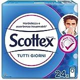 Scottex Fazzoletti Tutti i Giorni, 1 Confezione da 24 Pacchetti