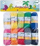 Gründl Amigurumi - Set I Fil à Tricoter Coton, Multicolore, 19,5 x 18 x 2,6 cm