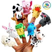 Smiles Creation Animal Finger Puppet (Pack of 10)