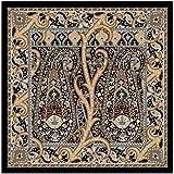 tessago foulard pl 100% Brown, cm 90x90