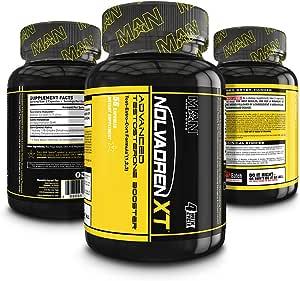 MAN Sports Nolvadren XT Testosterone Booster For Men, Estrogen Blocker, Corisol Control Supplement, 56 Capsules