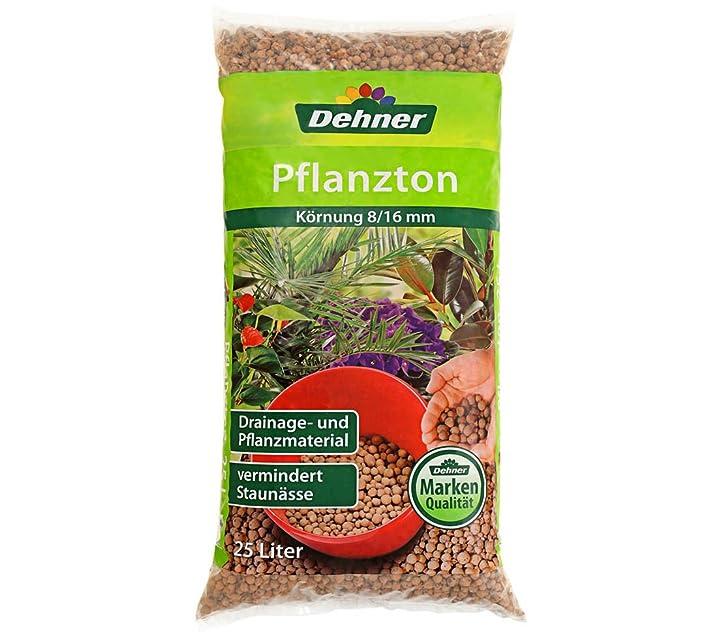 Dehner Pflanzton, 10 l, Körnung 8/16 mm: Amazon.de: Garten