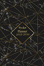 2019-2020 Pocket Planner: The Two Year Monthly Calendar and Planner Organizer for 24 Month - Your Agenda Academic Planner Schedule Logbook 6x9 Inch