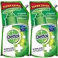 Dettol Original Liquid Hand Wash Refill - 750ml (Buy 1 get 1)
