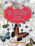 Libri antistress da colorare. Farfalle meravigliose