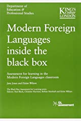 Modern Foreign Languages Inside the Black Box Paperback