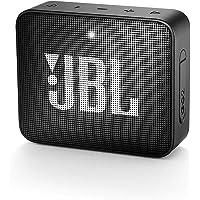 JBL Go 2 Portable Waterproof Bluetooth Speaker with mic (Black)