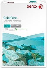 Xerox 003R95256 Premium Farblaser-/Druckerpapier Color print, DIN A4, 100 g/m², 500 Blatt, weiß
