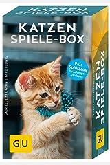 Katzen-Spiele-Box: Plus Spielzeug für sofortigen Spielspaß (GU Tier-Box) Gebundene Ausgabe