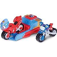 Ricky Zoom Playset Lanceur Ricky Zoom et Loop, Édition Steel Awesome et en Exclusivité Les Figurines Ricky & Loop, Motos…
