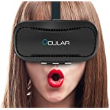 """Ocular Razor Virtual Reality Glasses – Fully Adjustable VR Headset with 42 MM Lenses - Compatible with 4.5""""-6…"""