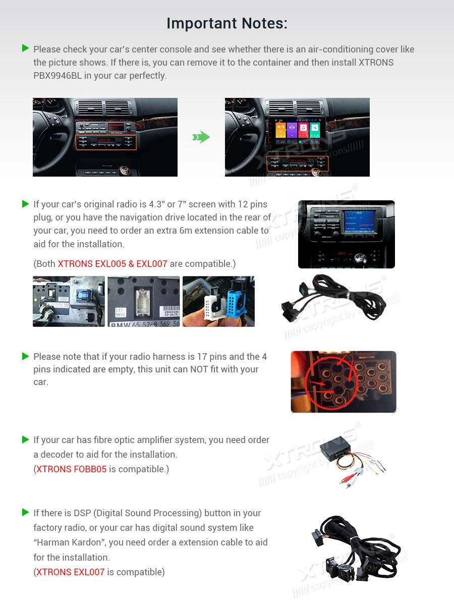 XTRONS-9-Android-4GB-RAM-64GB-ROM-Autoradio-mit-Touch-Screen-Android-90-Octa-Core-Autostereo-untersttzt-4G-WiFi-Bluetooth-DAB-OBD2-CAR-Auto-Play-TPMS-Musik-Streaming-FR-BMWRoverMG