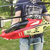 Lotees Large Remote Control Helicopter RC Aircraft Drone Children Outdoor Toys Adult Charging Remote Electric Fall-resistant