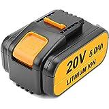 Topbatt 20V 5.0Ah Vervangende voor worx Batterij WA3578 WA3522 WA3544 WA3575 WA3525 WA3520 WA3512