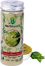 HerbtoniQ 100% Natural Colorless Henna Powder (Cassia Obovata/Senna Italica) 150g For Hair (150 g)