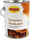 Pigrol Schwedenhauslasur 2,5L farblos Dickschichtlasur für alle Hölzer im Außenbereich
