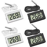 Thlevel Mini Digital LCD Thermomètre Température -50~70 ℃ de Température Capteur Testeur pour Réfrigérateur Congélateurs…