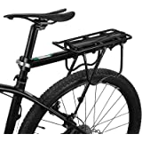 "ROCKBROS MTB bagagedrager snelspanner fietsbagagedrager van aluminiumlegering max. belasting 50 kg universeel 24 tot 29 """