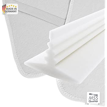 set mss ritzenf ller liebesbr cke molton matratzenauflage 180x200 k che haushalt. Black Bedroom Furniture Sets. Home Design Ideas