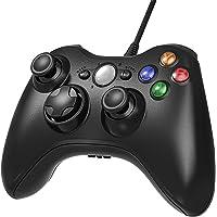 AiMis Manette filaire Xbox 360, USB Gamepad Controller Manette du Contrôleur de Jeu Filaire avec Double Vibration pour…