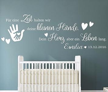 tjapalo® pkm191-name (B160xH53cm) Wandtattoo Kinderzimmer Baby ... | {Jungen babyzimmer 8}
