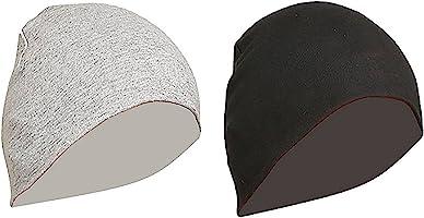 Gajraj Unisex Cotton Helmet Caps - Pack of 2