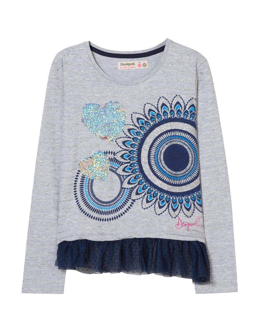 Desigual TS_dolichothele Camiseta para Niñas