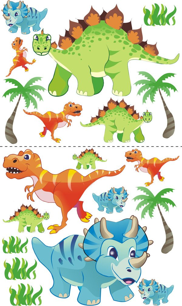 Best For Kids BFK baby bedCHLDREN'S BED with foam mattress with TÜV CERTIFIED Youth bed 70x140 + mattress + slatted frame + WALL STICKER (dinosaur) 4myBaby Cot with mattress 10 cm (TÜV tested foam) & with drawer (if indicated in the title) different designs. Made in the EU. Under the link you will find all the cots we have in the assortment: http://amzn.to/2eWuP4a Bed was made of high quality chipboard and has colorful prints on the fronts. The side panels are white. The imprint was made of ecological colors and additionally laminated, so the colors do not fade and can not be wiped off. The bed edges have a special coating and thus protect your child from injury. The Guardrails Prevents your little one from falling out of bed during sleep. The special production and high-quality materials ensure that all cots we offer are very stable and robust. The slatted frame consists of 2 cm thick cross bars made of wood and holds max. 150 kg body weight. A parent can sit on the bed and also lie with the child. Foam mattress with zippered cover. 5