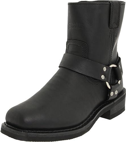 Harley Davidson EL PASO BLK SHORT HARNESS WINSIDE ZIP D94422, Bottines homme: : Chaussures et Sacs