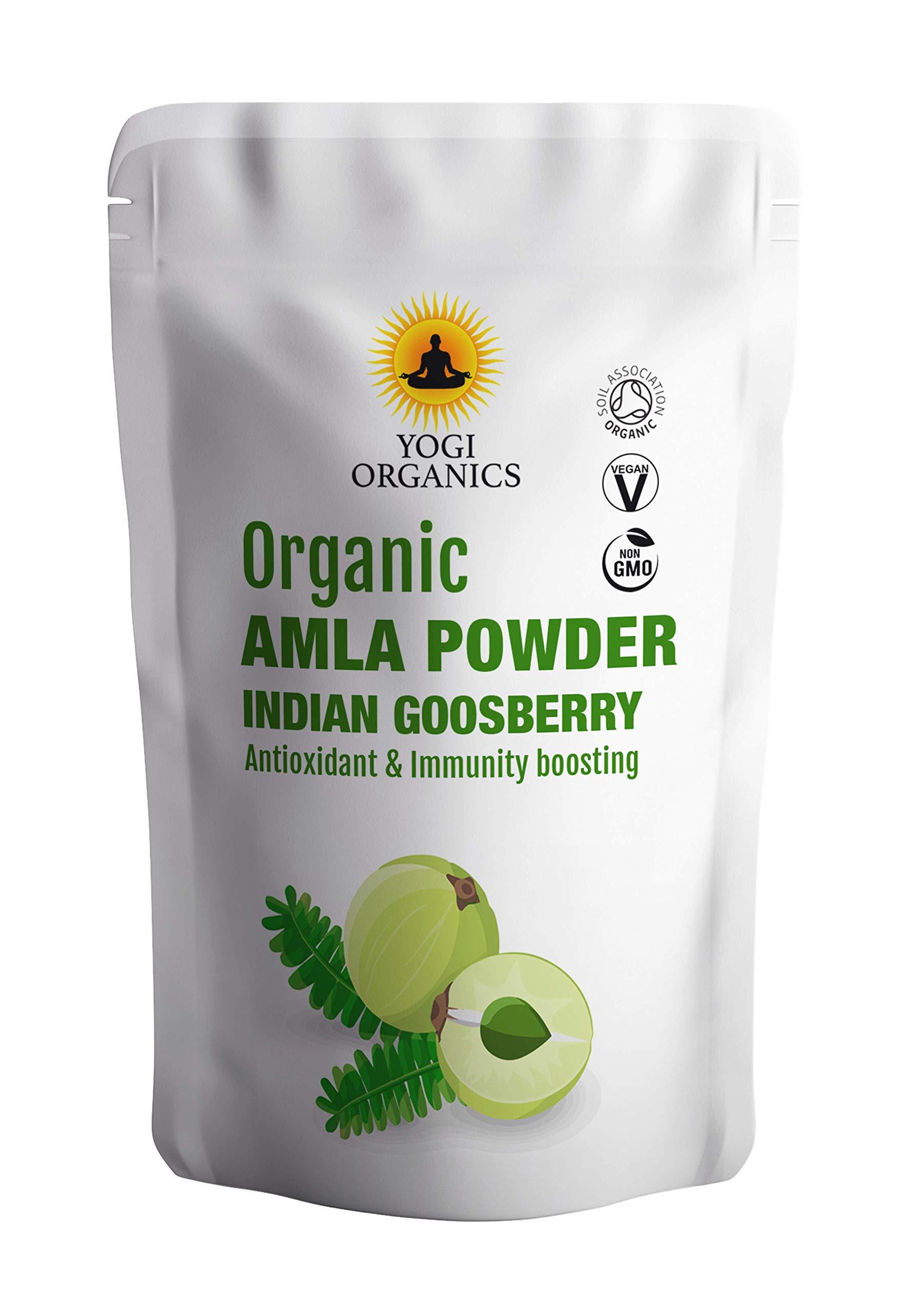 Organic AMLA Powder - Indian Gooseberry - Soil Association Certified 1