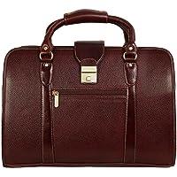 Da Leather Villa Laptop Briefcase Bag for Men |15.6'' Laptop Compartment| |Expandable Features| |High Security Number…