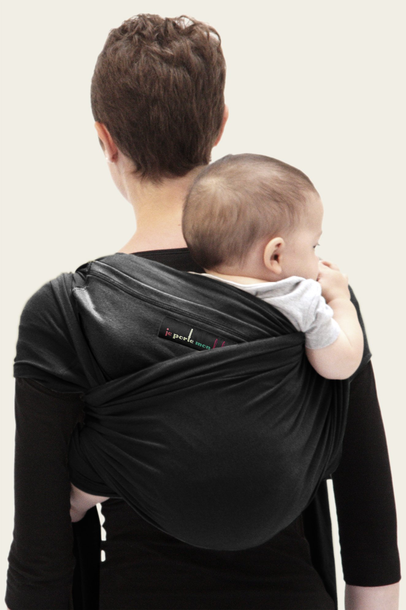 Je Porte Mon Bébé L'Originale Baby Sling Je Porte Mon Bébé High Quality Elastic Baby Carrier Dense, elastic and breathable material Great support, fits your baby's body like a second skin. 5
