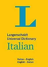 Langenscheidt Universal Dictionary Italian: Italian-English / English-Italian (Langenscheidt Universal Dictionaries)