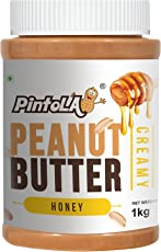 Pintola All Natural Honey Peanut Butter, Creamy, 1kg