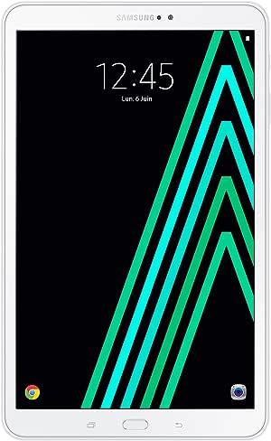 Samsung Galaxy Tab A Tablette tactile FHD 10,1 pouces Blanc (Octo Core, 2 Go de RAM, disque dur 16 Go, Android 6.0) [Ancien Modèle]