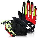 FREETOO Fahrradhandschuhe Touchscreen, Rutschfeste und Stoßdämpfende Radsporthandschuhe Trainingshandschuhe Ideal Gloves für Radsport MTB Mountainbike Fitness