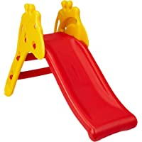 Amazon Brand - Solimo Red & Yellow Giraffe Slide