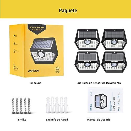 Mpow Basics Foco Exterior 30LED