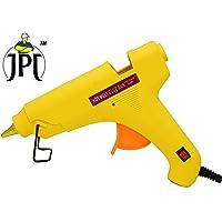 Vertex 60W Glue Gun with on/off Switch (Yellow) with 17 Sticks