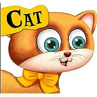 Cutout Board Book: Cat( Animals and Birds) (Cutout Books)