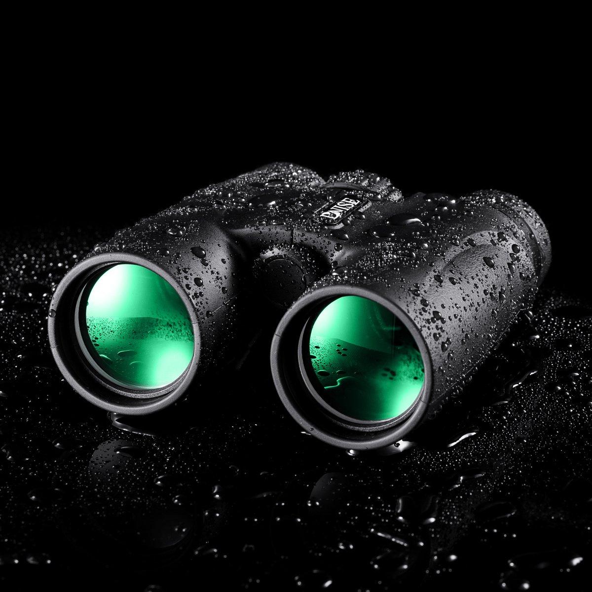 Binocolo Professionali per Viaggi Astronomia Osservare gli Uccelli Luminoso e Chiaro Gamma di vista 10x42 ad alta Potenza di Ingrandimento Binocoli Sport e Della Fauna Selvatica