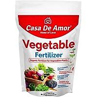Casa De Amor Organic Vegetable Essential Fertilizer for Home, Balcony, Terrace & Outdoor Gardening, 900 gm