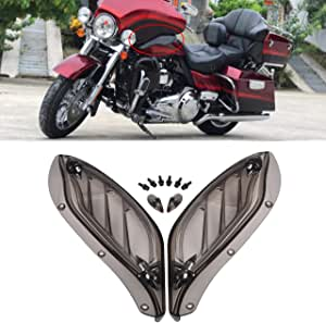 Tuincyn Motorrad Verstellbare Seitenflügel Luftleitbleche Verkleidung Harlay Davidson 96 13 Smoke Auto
