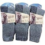 3 Pairs Mens Fresh Feel Merino Wool Soft Warm Socks UK 6-11